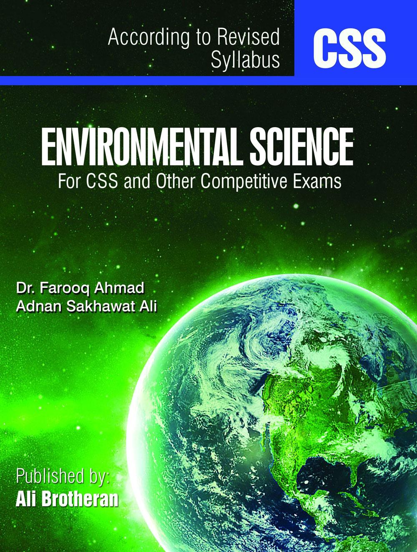 E-book Environmental Science – CSS