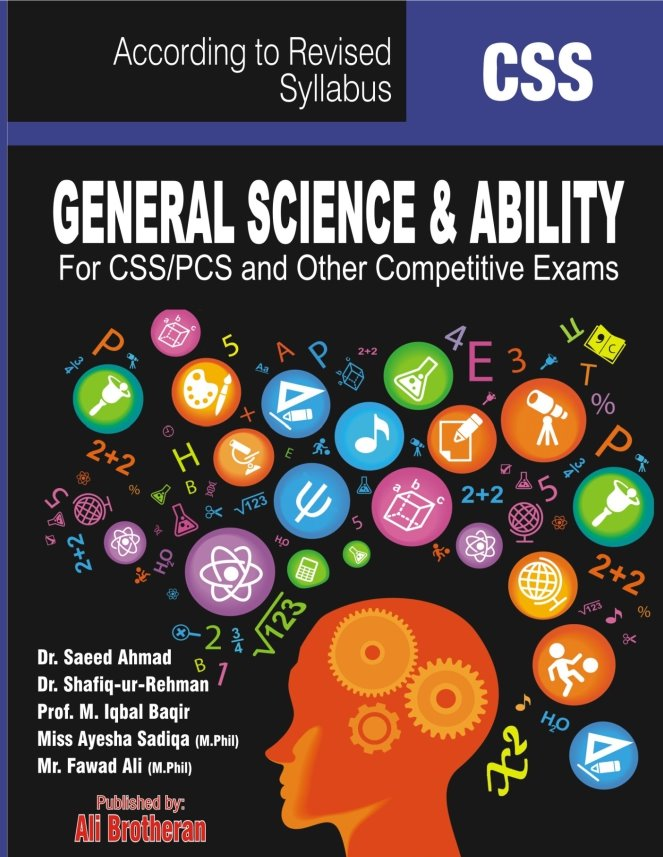 E-book General Science and Ability – CSS